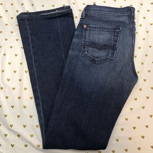 7 for All Mankind Boot Cut Jeans - Size 26